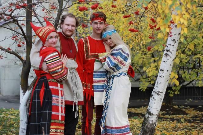 одежда русская фото