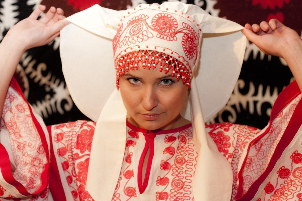 Русский народный головной убор сорока женский своими руками